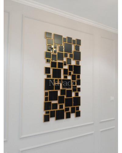 Sản xuất gương trang trí treo tường phòng khách