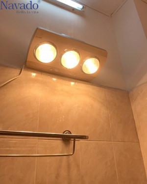 Sản xuất đèn sưởi âm trần 3 bóng phòng tắm mùa đông